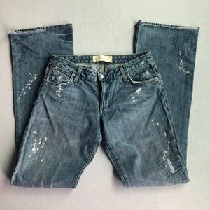 """Paper Demin & Cloth """"New Ripper"""" Painted Jeans 28"""""""